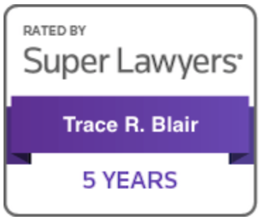 Badge superlawyers trace blair